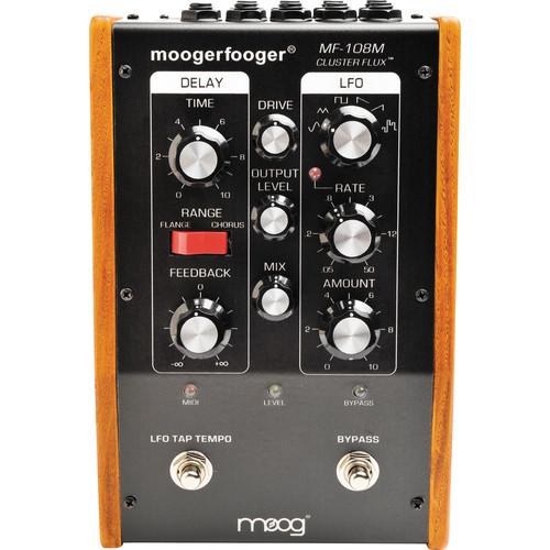 Moog Moogerfooger MF-108 Cluster Flux (Black)