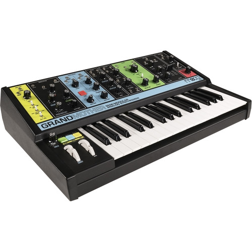 moog grandmother semi modular analog synthesizer mod grand 01. Black Bedroom Furniture Sets. Home Design Ideas