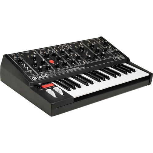Moog - Grandmother Dark Semi-Modular Analog Synthesizer (All Black)