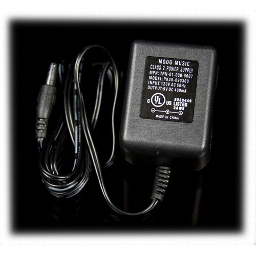 Moog Power Supply for Select Moogerfooger Synthesizers (US Adapter)