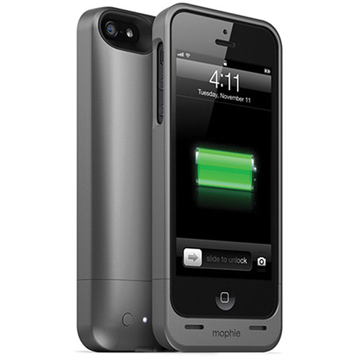 mophie Juice Pack Helium for iPhone 5 (Dark Metallic)