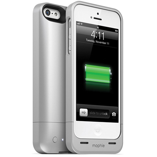 mophie Juice Pack Helium for iPhone 5 (Silver)