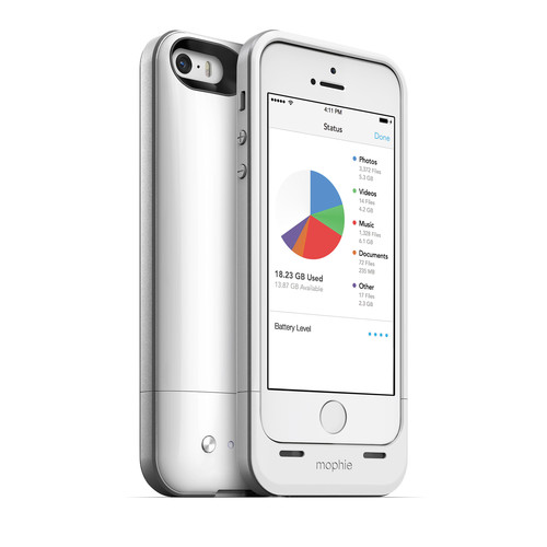mophie 32GB space pack for iPhone 5/5s (White)