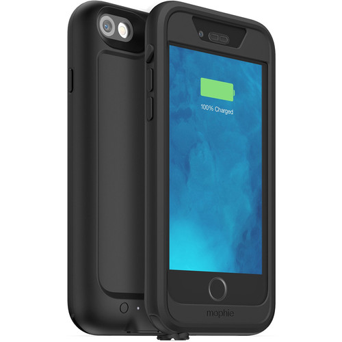 mophie juice pack H2PRO Waterproof Battery Case for iPhone 6/6s (Black)