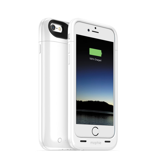 mophie juice pack plus for iPhone 6/6s (White)