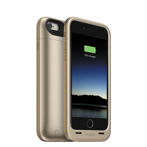 mophie juice pack plus for iPhone 6/6s (Gold)