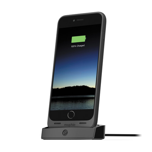 mophie Dock for juice pack for iPhone 6 Plus/6s Plus (Black)
