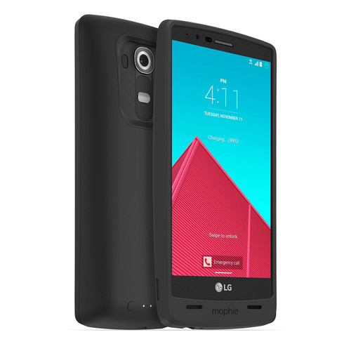 mophie juice pack Battery Case for LG G4 (Black)