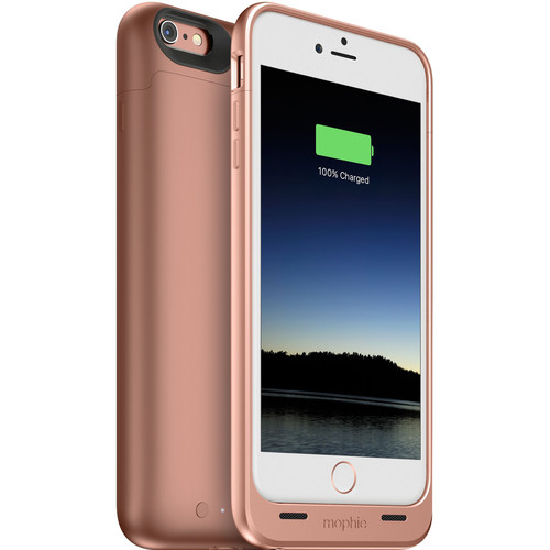 mophie juice pack Battery Case for iPhone 6 Plus/6s Plus (Rose Gold)