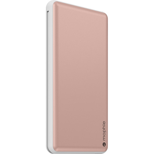 mophie Powerstation Plus XL 12,000mAh Battery Pack (Rose Gold)
