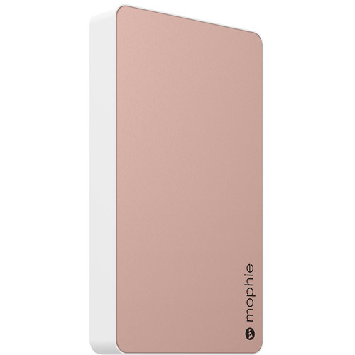 mophie Powerstation Dual-USB 6000mAh Battery Pack (Rose Gold)