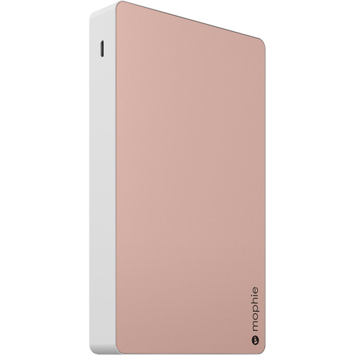 mophie Powerstation XXL Three-USB 20,000mAh Battery Pack (Rose Gold)