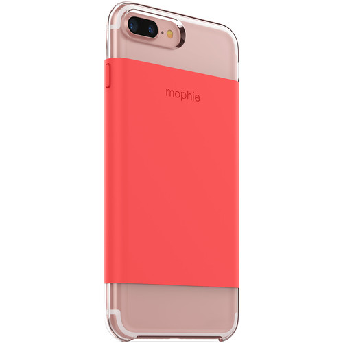 mophie Hold Force Base Case for iPhone 7 Plus and iPhone 8 Plus (Coral)