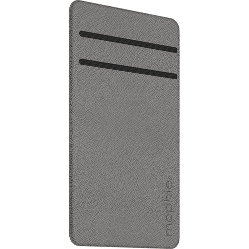 mophie Hold Force Wallet for iPhone 7/7 Plus (Stone/Gray)
