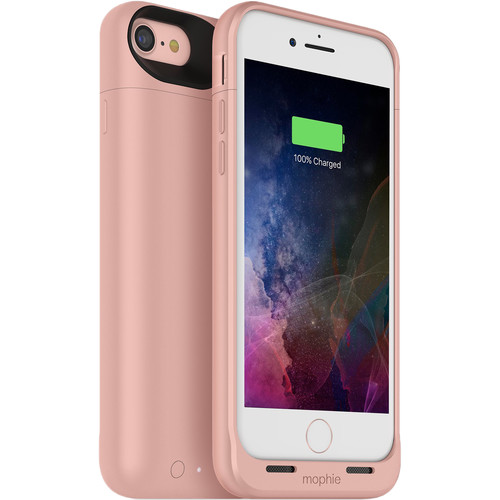 mophie juice pack air for iPhone 7 and iPhone 8 (Rose Gold)