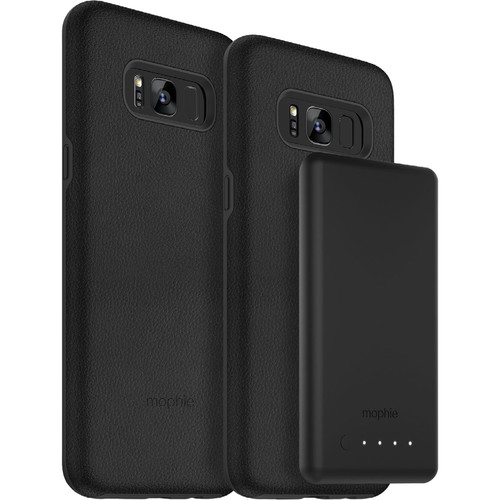 mophie Samsung Galaxy S8 charge force case & powerstation mini