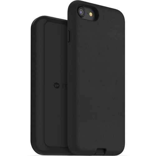 mophie Apple iPhone 7/8 charge force case & wireless charging base (Black)
