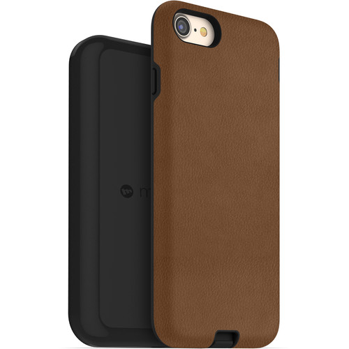 mophie Apple iPhone 7/8 charge force case & wireless charging base (Tan)
