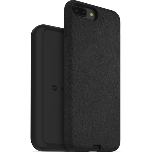 mophie Apple iPhone 7/8 Plus charge force case & wireless charging base (Black)
