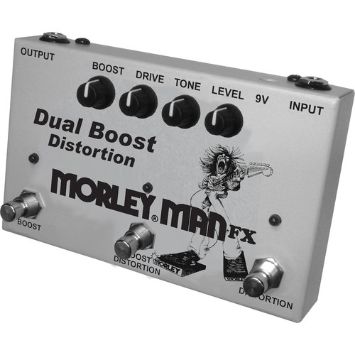 Morley Man FX Dual Boost Distortion