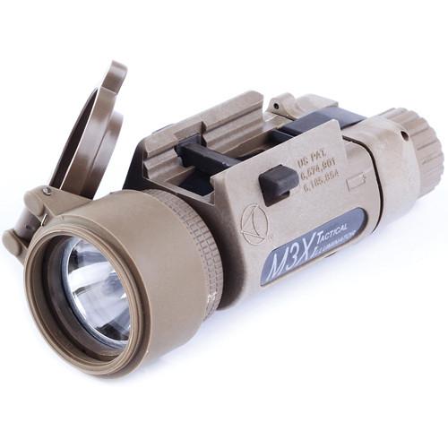 Morovision Insight M3X Incandescent Long-Gun Light with Rail Grabber