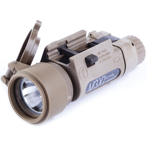 Morovision Insight M3X Incandescent Long-Gun Light with Rail Grabber