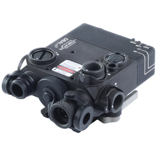 Morovision DBAL-I2 Infrared and Visible Red Aiming Laser (Desert Sand)