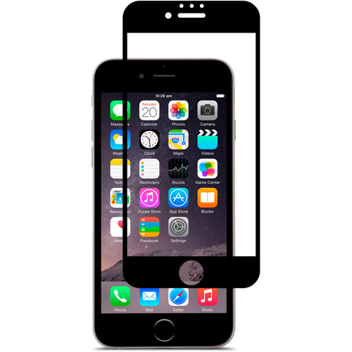 Moshi iVisor AG Anti-Glare Screen Protector for iPhone 7 (Black)