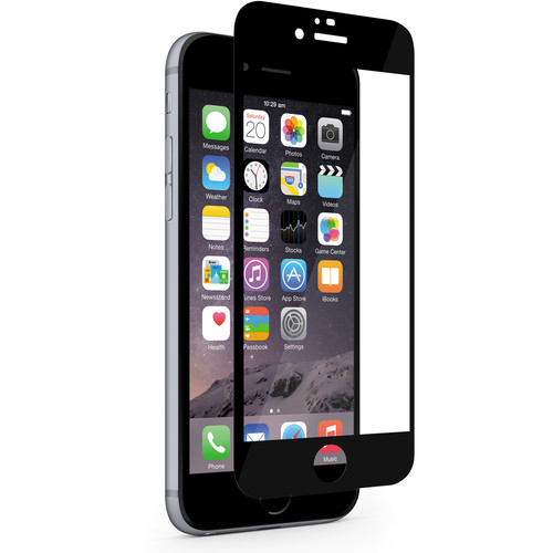 Moshi iVisor XT Screen Protector for iPhone 6/6s (Black)