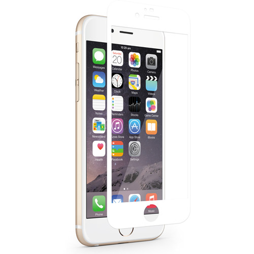 Moshi iVisor XT Screen Protector for iPhone 6/6s (White)