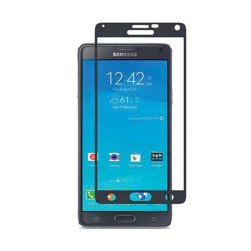 Moshi iVisor AG Anti-Glare Screen Protector for Galaxy Note 4 (Black)