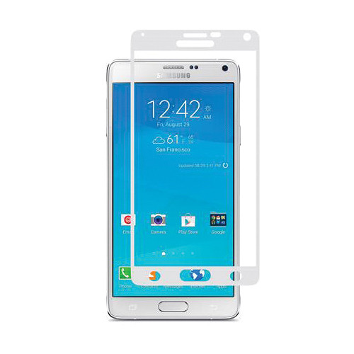 Moshi iVisor AG Anti-Glare Screen Protector for Galaxy Note 4 (White)