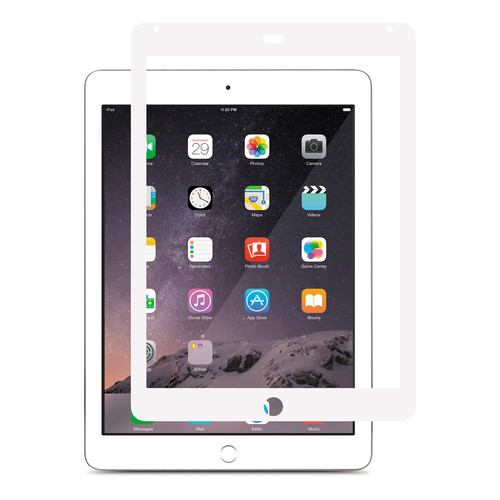 Moshi iVisor XT Screen Protector for iPad Air and iPad Air 2 (White)