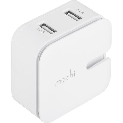 Moshi Rewind 2 Dual-Port USB Wall Charger