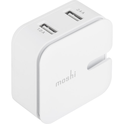 Moshi Rewind 2 Dual-Port USB Wall Charger