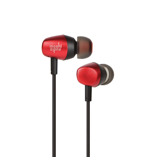 Moshi Mythro Earbud Headphones (Burgundy Red)