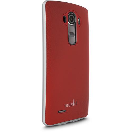 Moshi iGlaze Napa Case for LG G4 (Red)