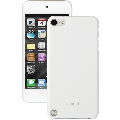 Moshi iGlaze touch Hardshell Case for iPod touch Gen 5 (Pearl White)