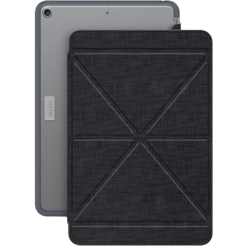 Moshi VersaCover Case with Folding Cover for iPad mini (Early 2019, Metro Black)