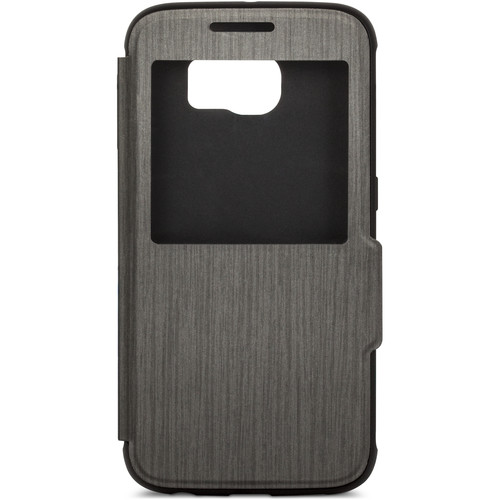 Moshi SenseCover Touch-Sensitive Flip Case for Galaxy S6 (Black)