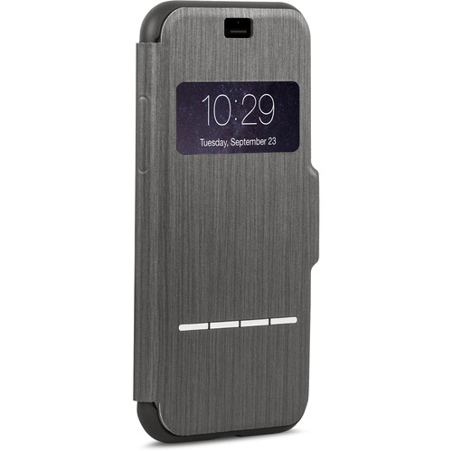 Moshi SenseCover Touch-Sensitive Flip Case for iPhone 7 Plus (Black)