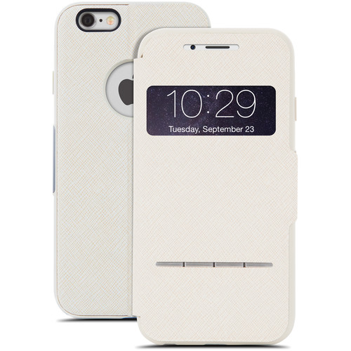 Moshi SenseCover Touch-Sensitive Flip Case for iPhone 6/6s (Sahara Beige)