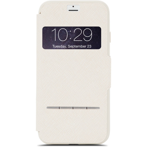 Moshi SenseCover Touch-Sensitive Flip Case for iPhone 7 (Beige)