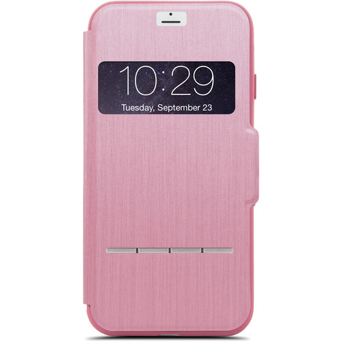 Moshi SenseCover Touch-Sensitive Flip Case for iPhone 7 (Pink)