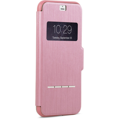 Moshi SenseCover Touch-Sensitive Flip Case for iPhone 7 Plus (Pink)