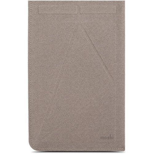 Moshi Versapouch mini Microfiber Sleeve and Viewing Stand (Velvet Gray)