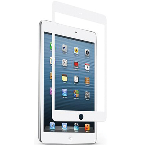 Moshi iVisor Glass Screen Protector for iPad mini (White)