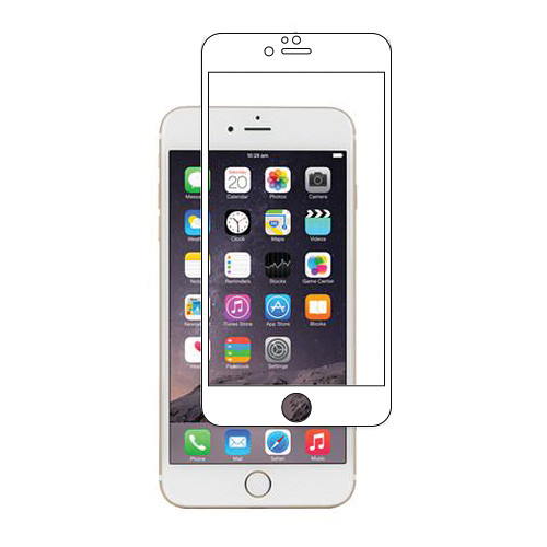 Moshi iVisor Glass Screen Protector for iPhone 6/6s (White)
