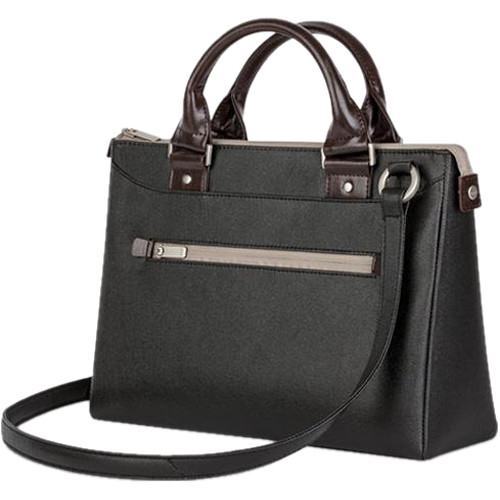 "Moshi Urbana Mini Slim Handbag for Apple 12"" MacBook or 10"" Tablet (Metro Black)"