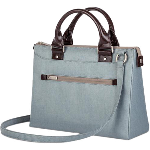 "Moshi Urbana Mini Slim Handbag for Apple 12"" MacBook or 10"" Tablet (Sky Blue)"